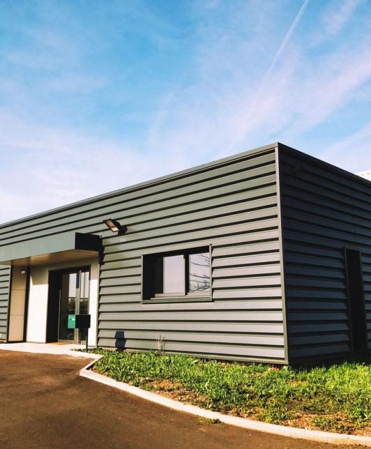 Construction de bâtiment professionnel en Maine-et-Loire par Cordier Daviau
