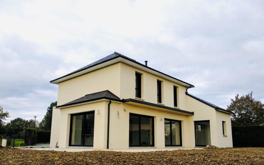 maison tradi-contemporaine