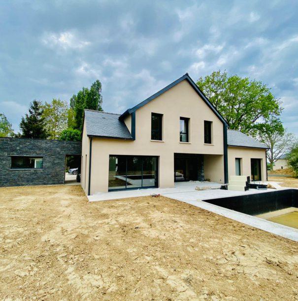 Construction – Maison neuve contemporaine
